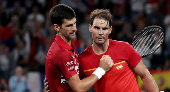 拉斐尔·纳达尔(Rafael Nadal) and Novak Djokovic