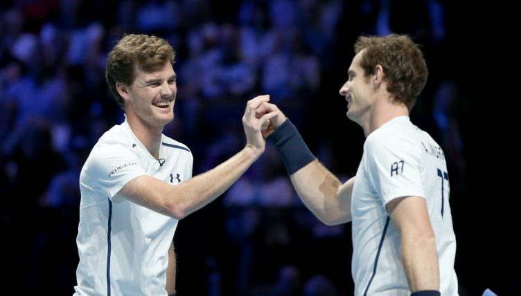 安迪·默里(Andy Murray)和杰米·默里(Jamie Murray)