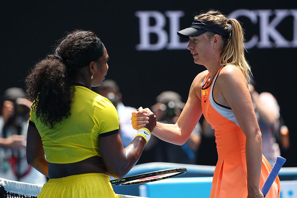 Serena Williams Maria Sharapova