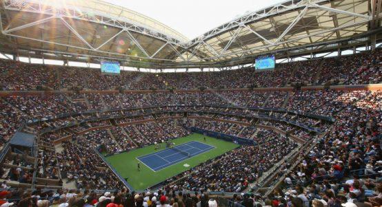 US Open crowd