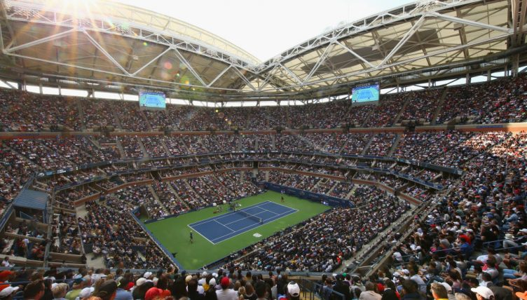 US Open crowd