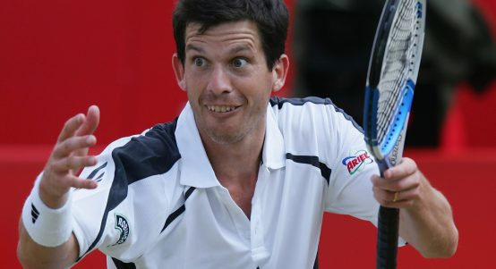 Tim Henman shot