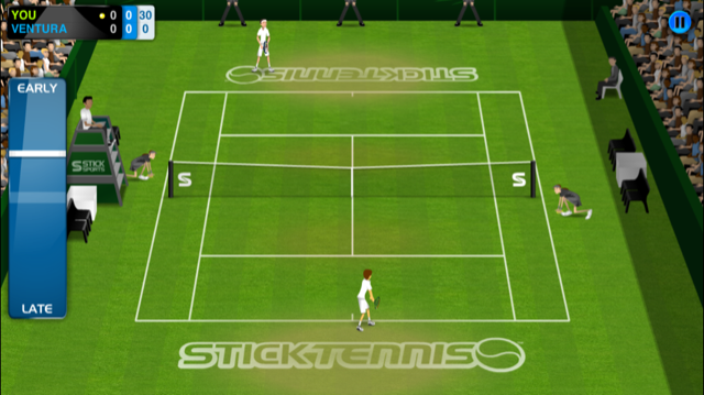 how to play stick tennis well