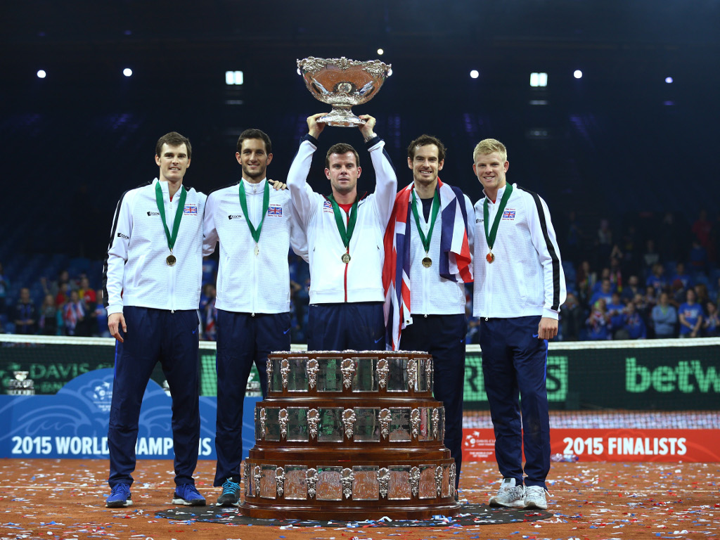 Great Britain lift the Davis Cup