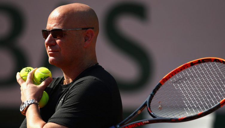 Andre Agassi coaching