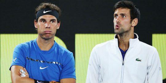 Rafael Nadal and Novak Djokovic Take 2