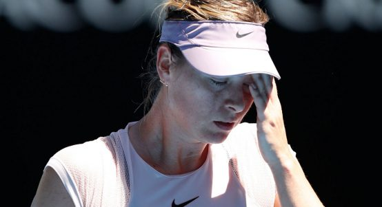 Maria Sharapova disappointed