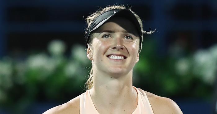 Elina Svitolina smiling