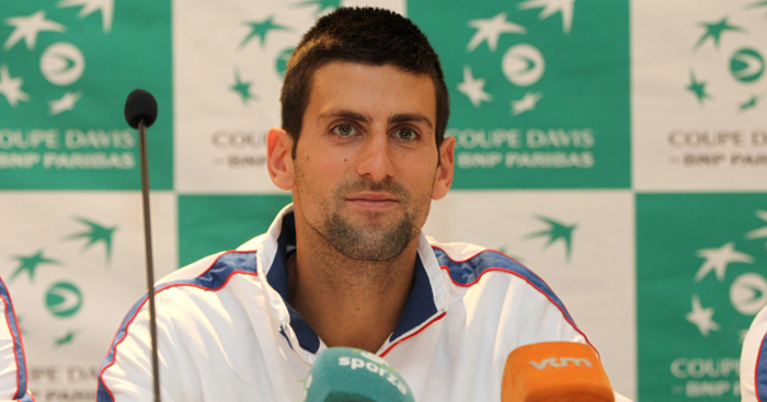 Novak Djokovic discusses Davis Cup