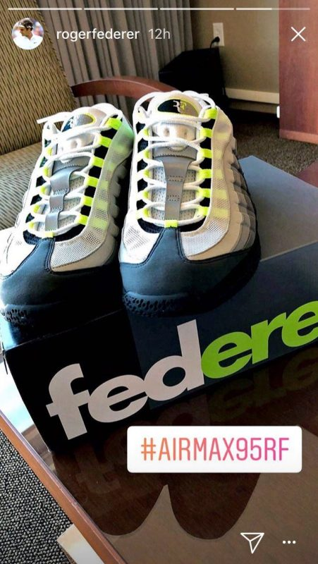 uk availability e1ec0 44bbb Tennis Today: Roger Federer's new shoes and Maria Sharpova's ...