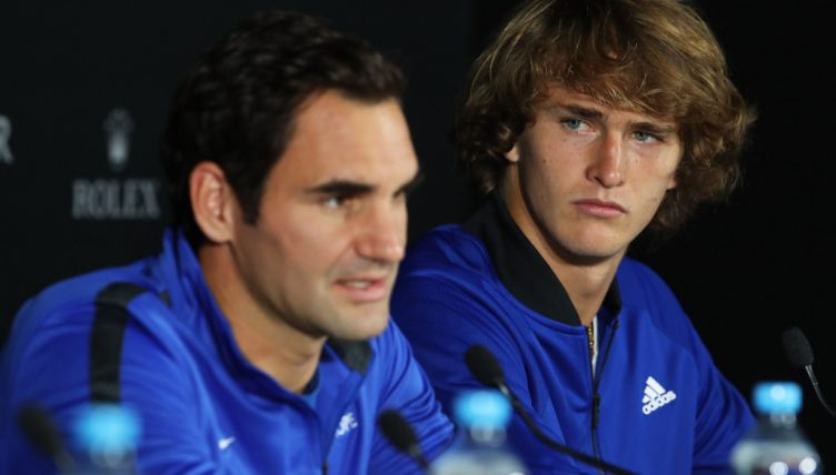 Roger Federer and Alexander Zverev press conference