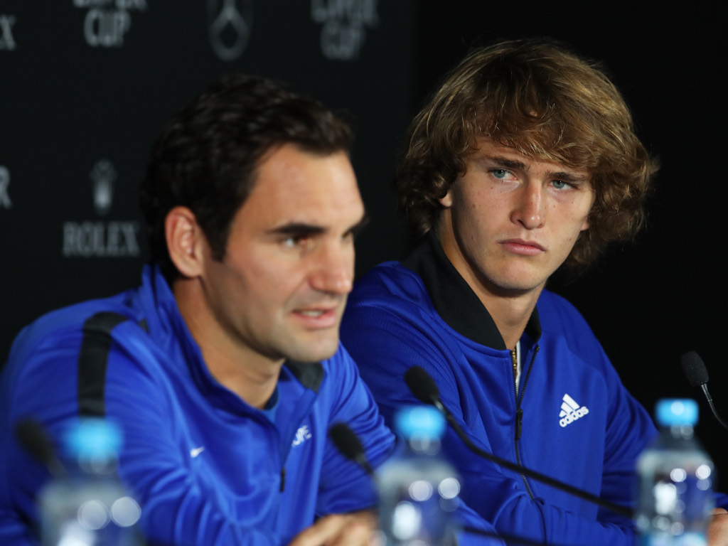 Roger Federer and Alexander Zverev press conference