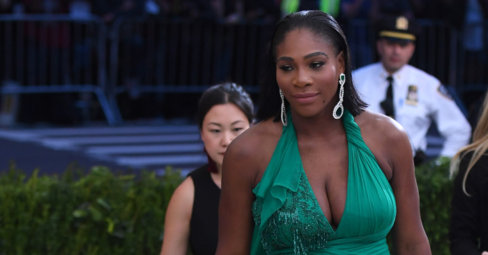 Serena Williams in glam