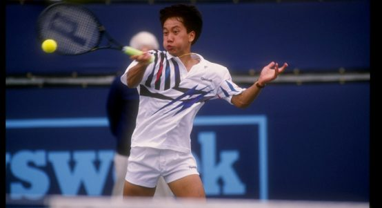 Michael Chang forehand
