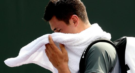 Bernard Tomic disappointed