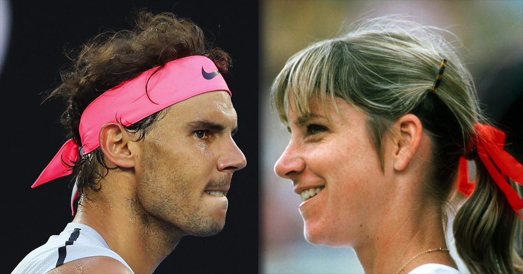 Rafael Nadal v Chris Evert: Who is the real clay court greatest of all  time? - Tennis365