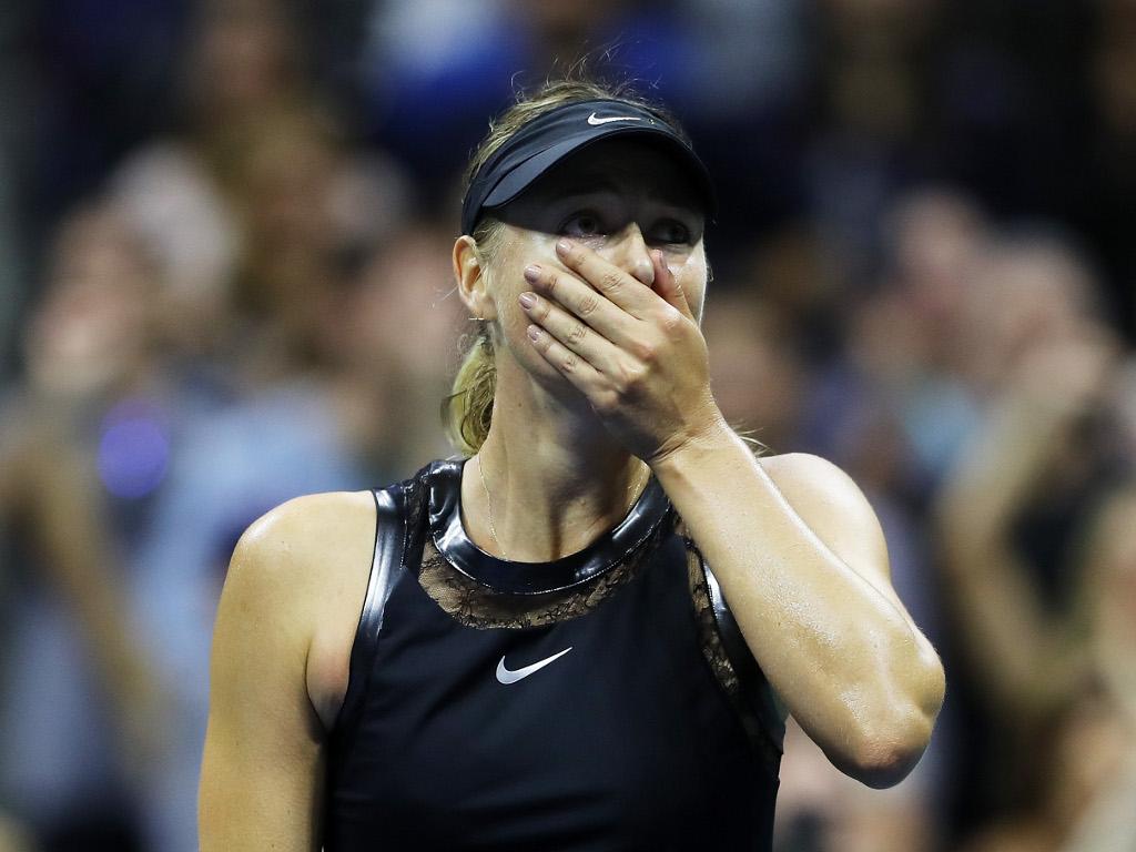 Maria-Sharapova surprised