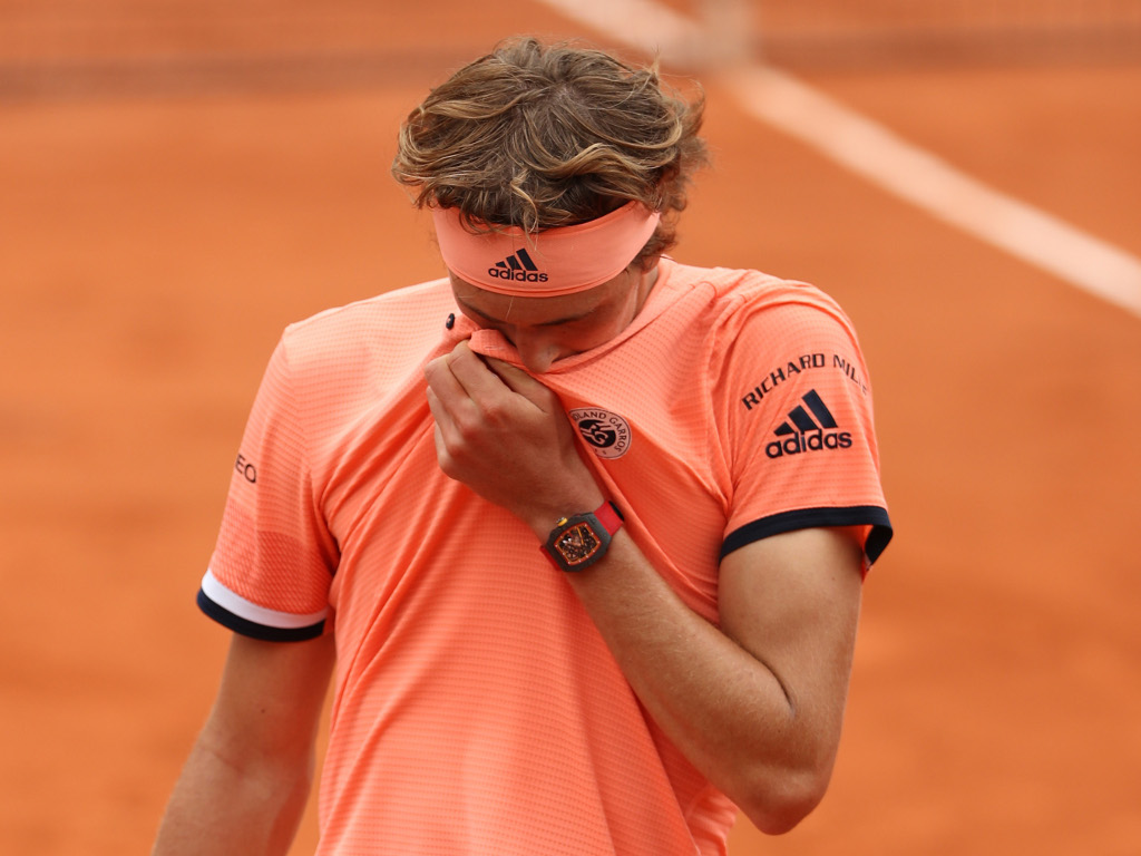Alexander-Zverev disappointed at French Open