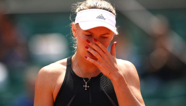 Caroline Wozniacki disappointed