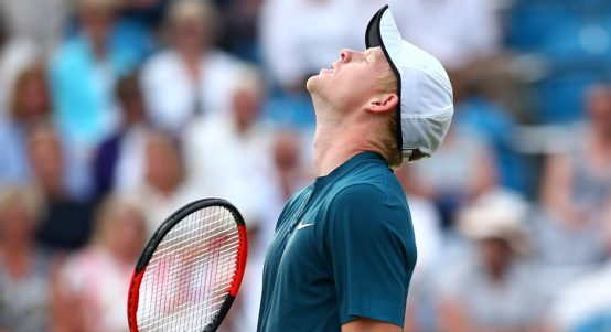 Kyle Edmund dejected