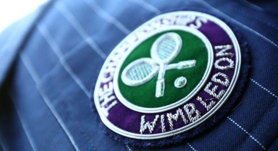 Wimbledon badge