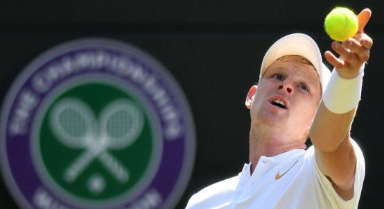 Kyle Edmund at Wimbledon