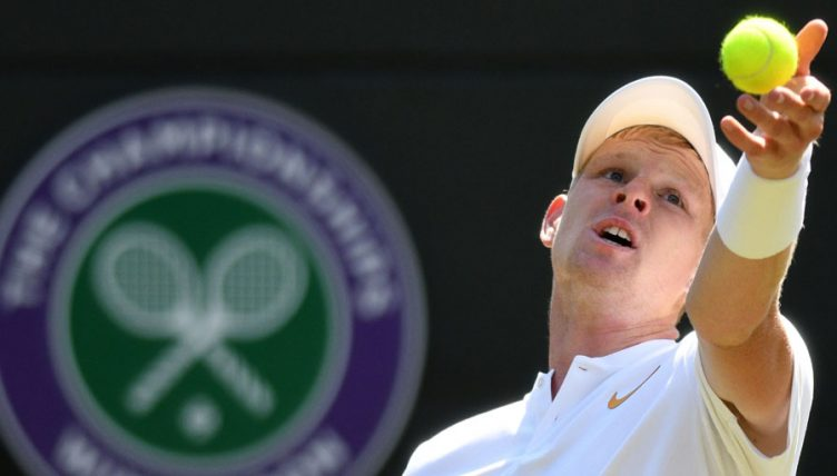 Kyle Edmund at Wimbledon