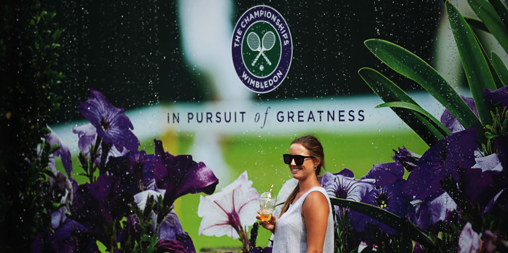 Wimbledon outside