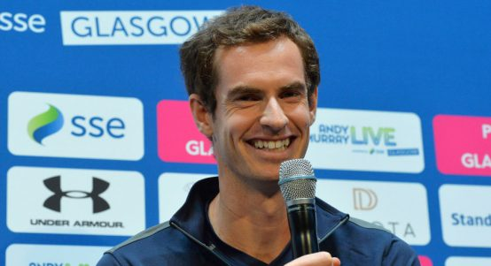 Andy Murray interviewed
