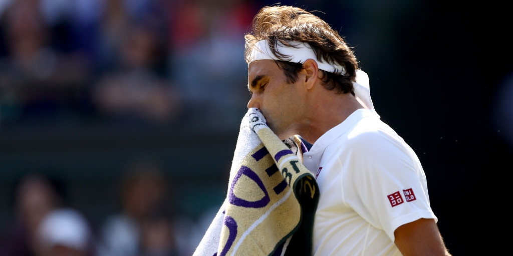 Roger Federer disappointed