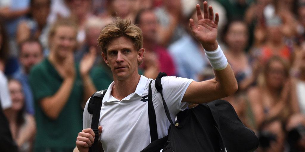 Kevin Anderson walks off after Wimbledon epic against John Isner