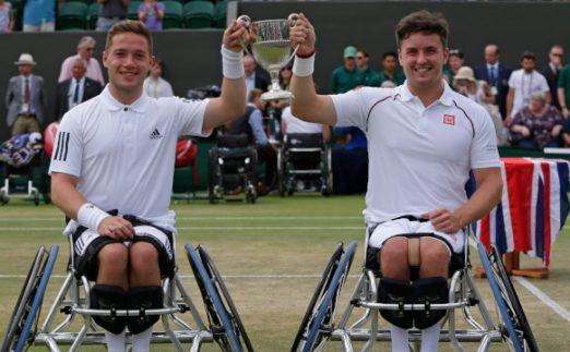 Gordon Reid and Alfie Hewitt