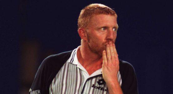 Boris Becker reacts