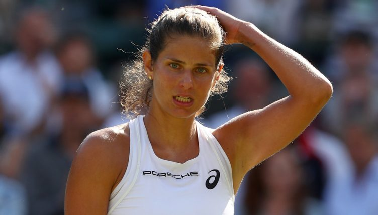 Julia Goerges: Out of Moscow River Cup