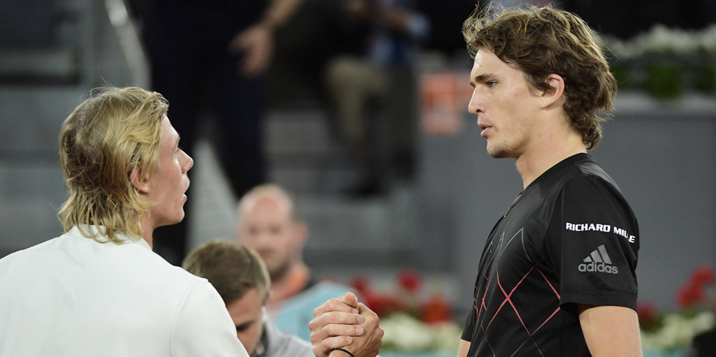 Rafael Nadal: Denis Shapovalov and Alexander Zverev can reach the top