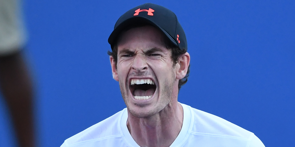 Andy Murray passion