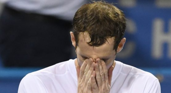 Andy Murray emotional