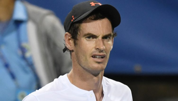 Andy Murray tired