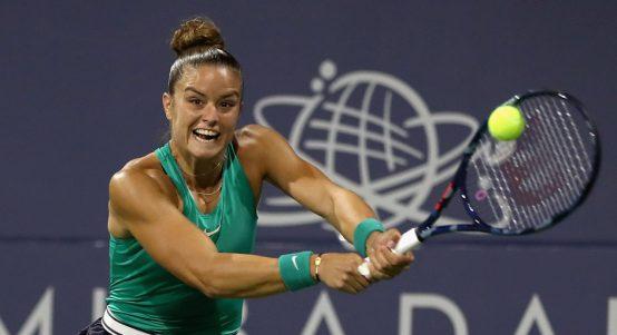 Maria Sakkari backhand