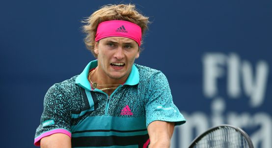 Alexander Zverev angry
