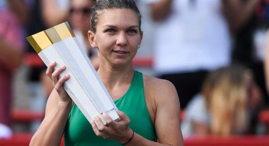 Simona Halep wins Rogers Cup