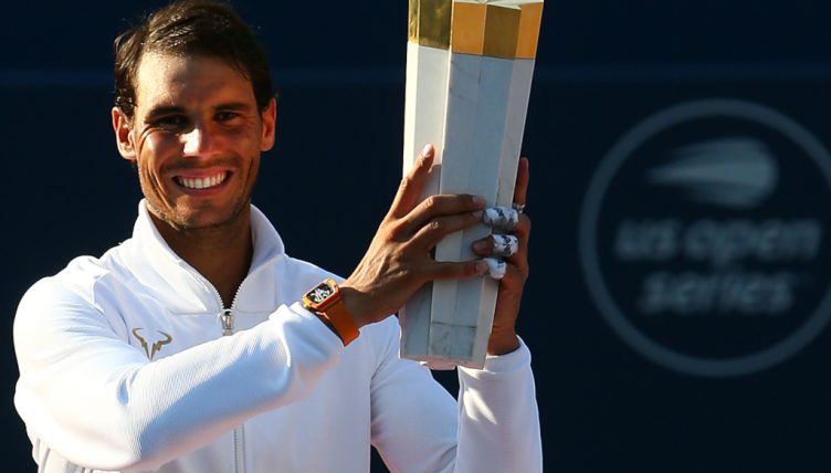 Rafael Nadal lifts Rogers Cup