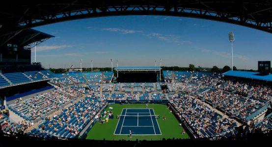 Cincinnati Masters general view