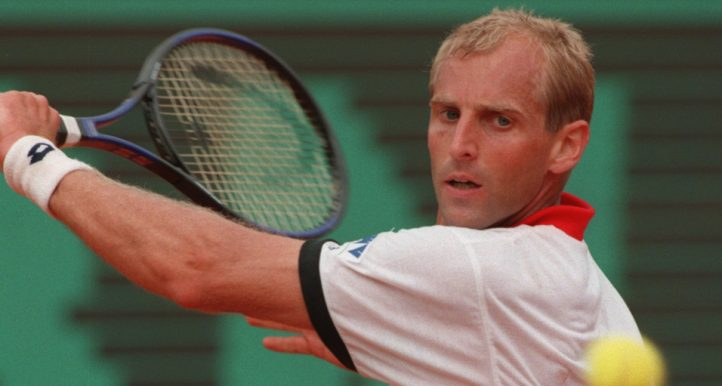 Thomas Muster backhand