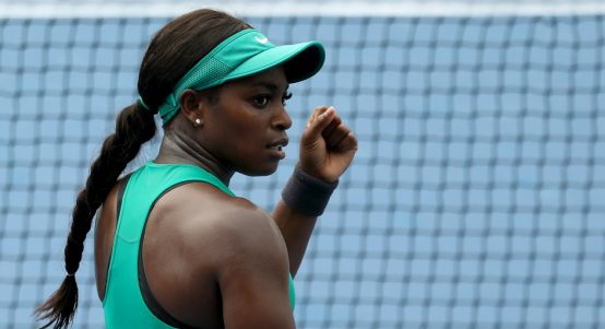 Sloane Stephens progresses in Cincinnati