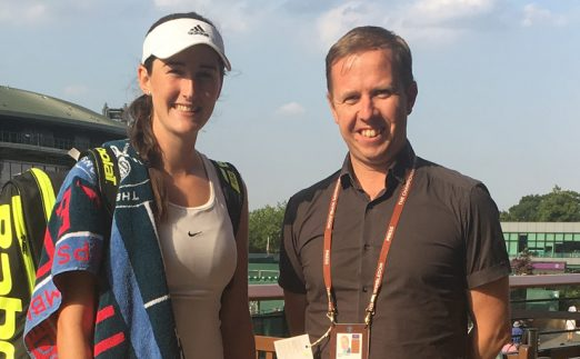 Georgia Drummy - rising tennis star