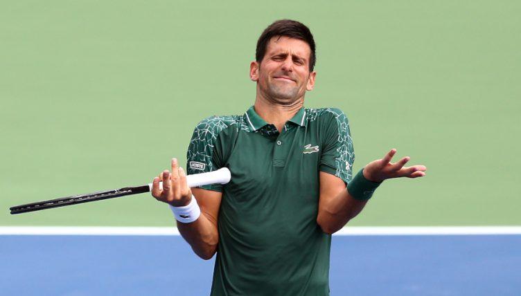 Tennis Today A Novak Djokovic Hair Tattoo And A Two Handed Roger Federer Backhand Tennis365 Com
