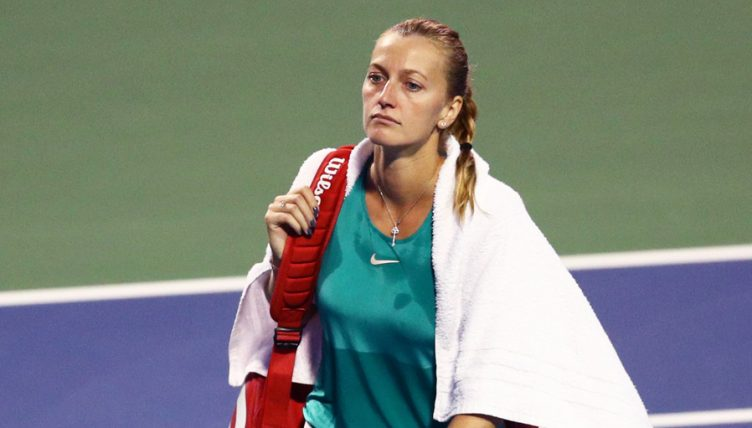 Petra Kvitova: New Haven injury