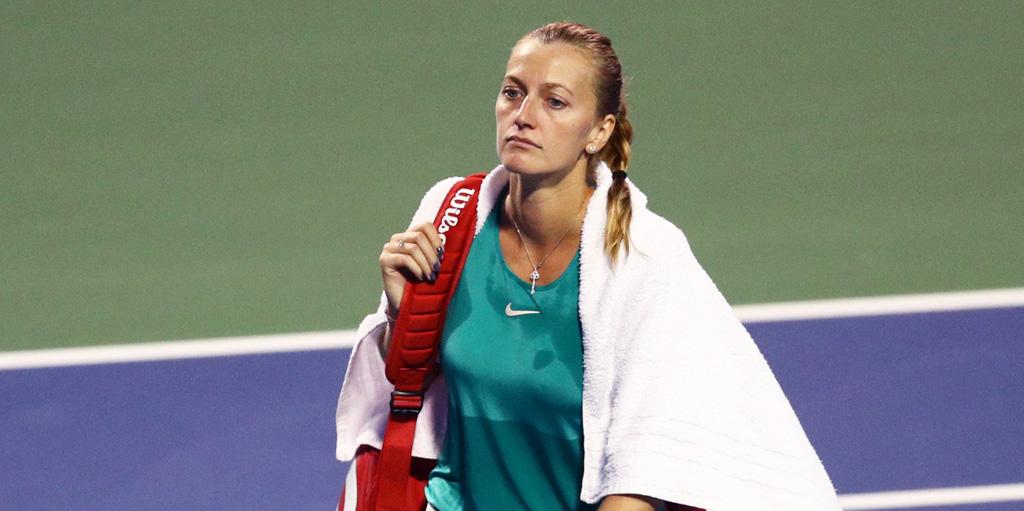 Petra Kvitova: New Haven injury