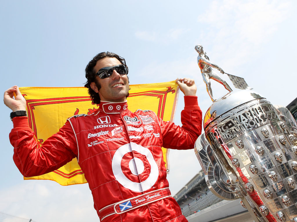 Dario Franchitti Indianapolis 500 winner